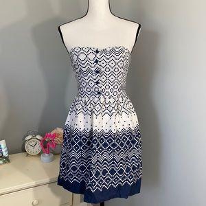 Forever 21 Strapless Summer Dress
